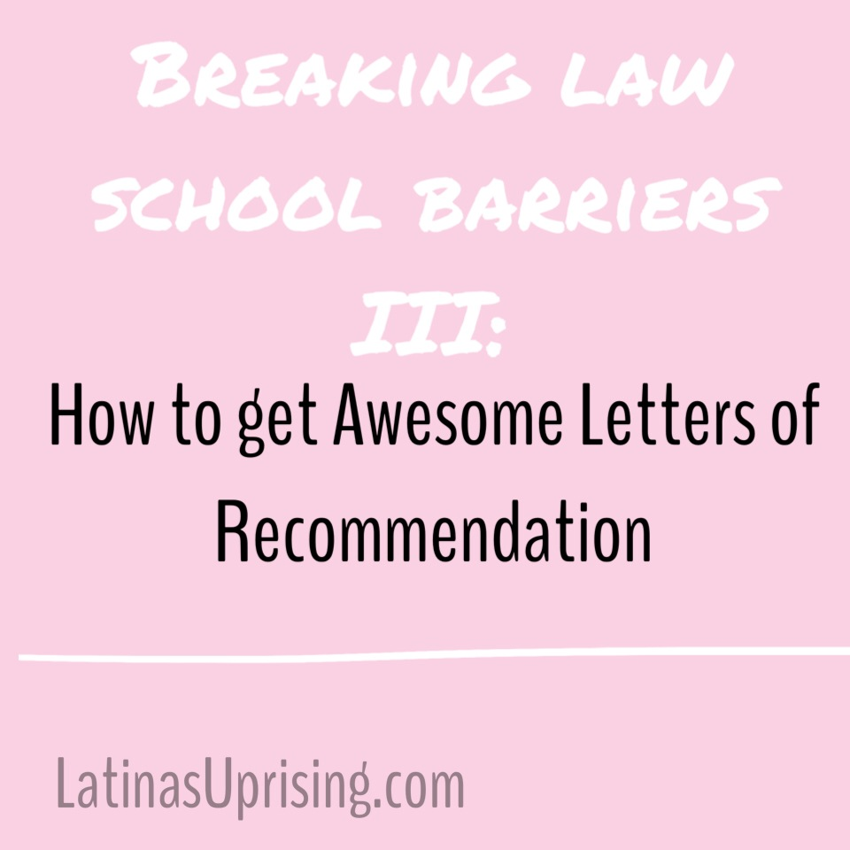 how to get letters of recommendation